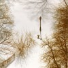 Lamppost in Snow