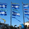 Pier 39 Flags Enhanced