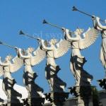 Trumpeter Statues, Caesar's Hotel/Casino, Las Vegas