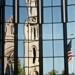 Church and Flag Reflection