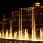 Fountain at Night Bellagio Hotel/Casino, Las Vegas