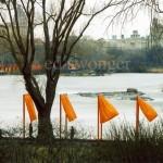Gates, Central Park Lake