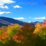Kancamagus Mountain View #2 Enhanced