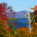 Lake Winnipesaukee and Fall Foliage Enhanced