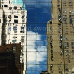 57th St Buildings and Sky Reflection