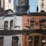 57th St Townhouse Reflection