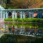 Old Westbury Gardens Pond and Trellis