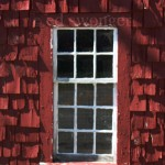 Red Barn Window