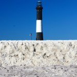 Robert Moses Sand Wall and Lighthouse