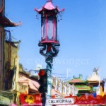 Chinatown Lamppost Enhanced