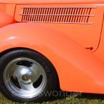 Classic Orange Fender Vents