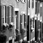Beacon Hill Street - Black & White