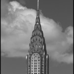 Chrysler Building Spire - Black & White