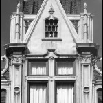 Coindre Hall Gable - Black & White
