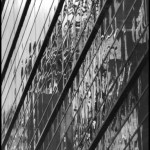 Midtown Reflection - Black & White