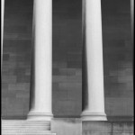 Two Columns - Black & White