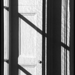 Wave Hill Window - Black & White